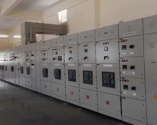 Main LT Panel In Saraswati Vihar